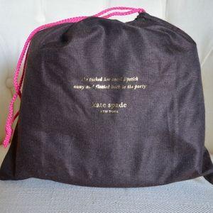 Medium Kate Spade Dust Bag